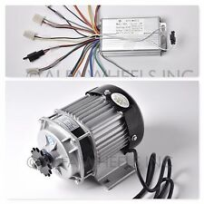 48V 350W Electric Scooter Tricycle Brushless Motor Gear Reduction w Controller