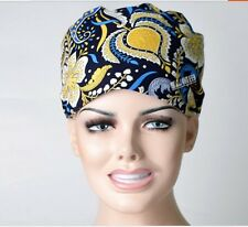 Doctors/nurses Scrub Printing Cap Medical Surgical Surgery Hat/Cap For Ponytails
