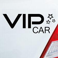 Sticker Adesivo Auto VIP Car V.(I).P. Stelle adesivo DUB OEM JDM 304