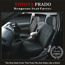 TOYOTA PRADO 90 SERIES (1996--2002) FRONT WATERPROOF CAR SEAT COVERS
