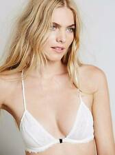Free People 'Midnight Hour' Sheer Mesh Front Close Underwire Bra Ivory 36C