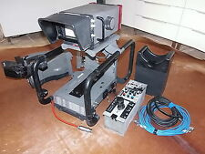 CAMERA STUDIO PHILIPS  LDK23 HS MKII BROADCAST HIGH SPEED + STAND SUPPORT STUDIO