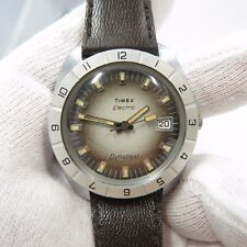 "TIMEX,1970's,Electric.""Dynabeat Dive Date/Just Dial"",CLASSIC! MEN'S WATCH,1974"