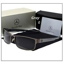 Sunglasses Men Polarized Metal Alloy Coating Driving With Box Mercedes-Benz