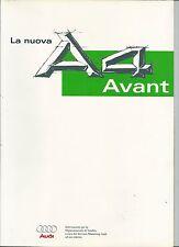 1995 AUDI A4 AVANT brochure it per venditori 1.6 - 1.8 - 1.8T - V6 2.8 - 1.9 TDI