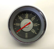 VW TYPE 3 ISP RED NEEDLE TACHOMETER 0 - 6,000 RPM DASH GAUGE 12 VOLT REV COUNTER