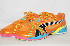 PUMA ACCELERATE VI 6 TRICKS ORANGE Gr.42 UK.8 Handballschuhe Indoor 102401 01