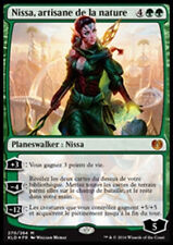 MAGIC Nissa, artisane de la nature Kaladesh VF NM FOIL PLANESWALKER MTG