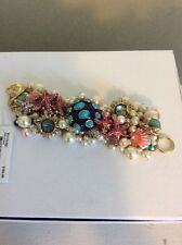 $145 Betsey Johnson And The Sea Bauble Bracelet