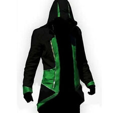 Assassins Creed 3 III Conner Kenway Hoodie/Coat/Jacket Cosplay Party Costume Man