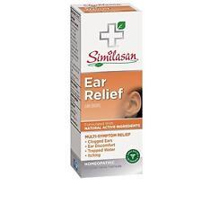 3 Pack - Similasan Homeopathic Ear Relief Ear Drops 0.33 fl oz (10 ml) Each