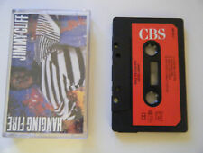 JIMMY CLIFF - HANGING FIRE - CASSETTE TAPE - 1988 RED PAPER LABEL - CBS (UK)