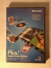 Microsoft Plus Digital Media Edition Ultimate Photo Music Movie Enhancement Pack