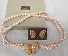 NEW 1988 AVON PapillIion Butterfly Necklace/Clip Earring SIGNED Kenneth Jay Lane