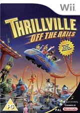 Thrillville Off the Rails Nintendo Wii  #K2032