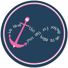 Cute Custom Mouse Pad Hope Anchor For Soul Infinity Symbol Pink Blue Mousepad