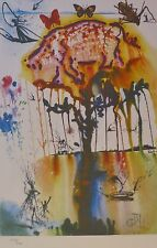 SALVADOR DALI ALICE IN WONDERLAND Pig and Pepper 1984 Limited Edition LITHOGRAPH