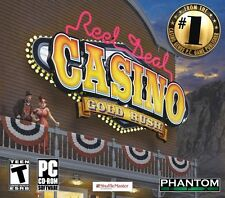 REEL DEAL CASINO: GOLD RUSH (2011) PC CD-ROM NEW & FACTORY SEALED