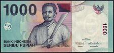 2013 INDONESIA 1000 RUPIAH BANKNOTE * BHP 122842 * aUNC * P-141m *