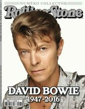 DAVID BOWIE 1947 2016 ROLLING STONE COLLECTOR FEVRIER 2016 special issue