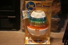 JW Treat Tower Small/Petit It Wobbles & Out Comes Treats Playful & Learning