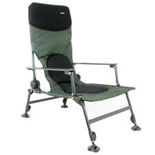 ABODE TALL BOY EASY ARM CARP FISHING CAMPING HIGH BACK RECLINER CHAIR