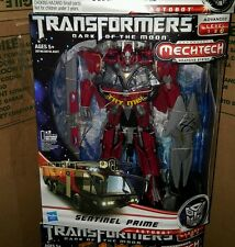 NEW!! TRANSFORMERS  DARK OF THE MOON MECHTECH SENTINEL PRIME ADVANCED LEVEL 3