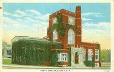 Nashua,NH. The Ivy Covered Public Library 1936