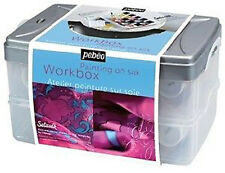 Pebeo Setasilk Paint Atelier Workbox Set - Silk Painting Kit