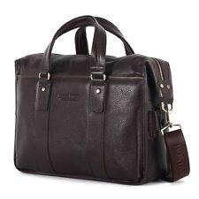 New Men's Genuine Leather Bag Briefcase Handbag Messenger Shoulder Laptop Bag