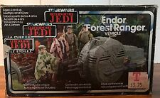 Vintage Star Wars Endor Forest Ranger ROTJ Boxed & Complete Vehicle Kenner