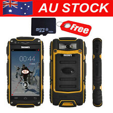 "Unlocked 32GB 4"" Android Discovery V8 Smartphone Rugged Waterproof Mobile Phone"