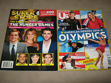 LOT 2  NEW ~ Us American Heroes 2014 OLYMPICS & SUPER STARS of The HUNGER GAMES