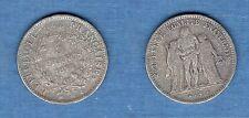 IIIème République - Fausse Monnaie 5 Francs Hercule 1875 A Paris