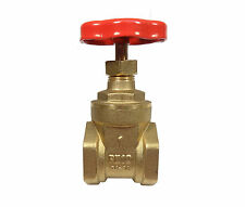1 Inch BSP Gate Valve | British Standard Pipe Thread | FxF Brass Gate-Valve