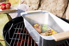 Dünst- und Warmhaltebox - Barbecue Grillen Bräter Dünsten - heißer Stein