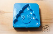 Large Poop/poo Emoji lollipop/ sweet/ chocolate food grade silicone Mould/mold