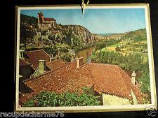 Almanach PTT  1965 Saint-cirq-lapopie (lot) AVEC DEPARTEMENT SEINE MARITIME