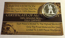 "New 2014 Certified ""NED KELLY"" 1/10th OZ 999.0 Pure Silver Proof Coin"