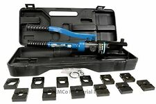 6 ga- 600 mcm HYDRAULIC LUG CRIMPER TOOL Electrical Terminal Cable Wire