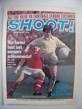 Shoot! Football Magazine 12/8/1978 Nottingham Forest, 1978/1979 Fixtures