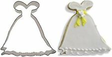 "Gown Wedding Cookie Cutter 4"" Long Dress Design Baking"