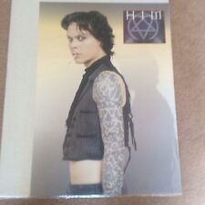 Huge Vintage HIM Tattoo Smoking Original Rock Promo Music Poster Memorabilia