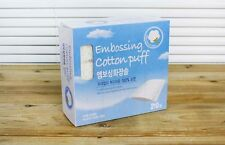210 Sheet Makeup Facial Cleansing Cosmetic Embossing 100% Pure Cotton Puff Pads