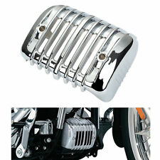 Chrome Voltage Regulator Cover For Harley Heritage Softail Classic FLSTC 2001-17