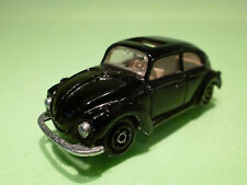 MAJORETTE  1:60 VOLKSWAGEN BEETLE - BLACK  - RARE SELTEN - IN GOOD CONDITION