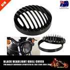 CNC Headlight Grill Cover For 2004-2014 10 11 12 13 Harley Sportster XL883 1200
