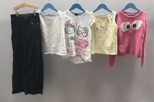 Girls Bundle Of Clothes. Age 9-10. Hello Kitty, Next, Denim Co.  A3545