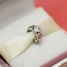 * Authentic Pandora Space In My Heart Spacer 791252CZ Wife love Gift w Pouch