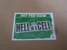 Carte catch Slam Attax Mayen 2010 Vert - Hell In A Cell